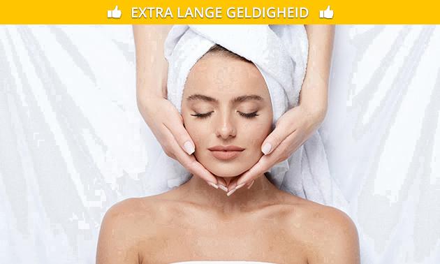 Gezichtsbehandeling (70 min) + evt. massage