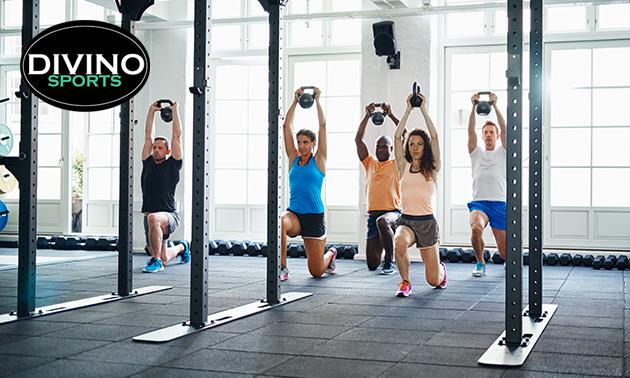 3 maanden onbeperkt fitness + groepslessen