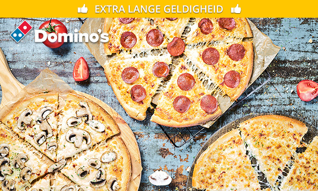 Domino's pizza naar keuze evt. + drankje