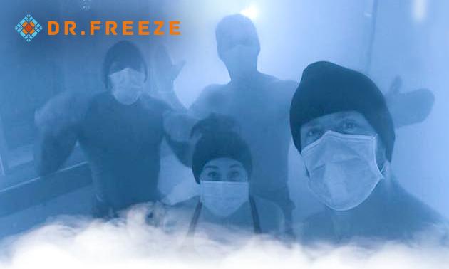 Cryotherapie-behandelingen bij Dr. Freeze