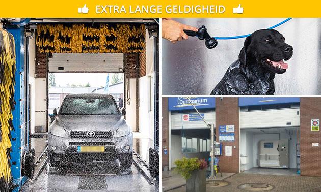 Wasbeurt voor je auto of hond