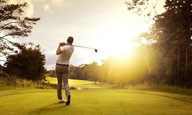 9 of 18 holes golf
