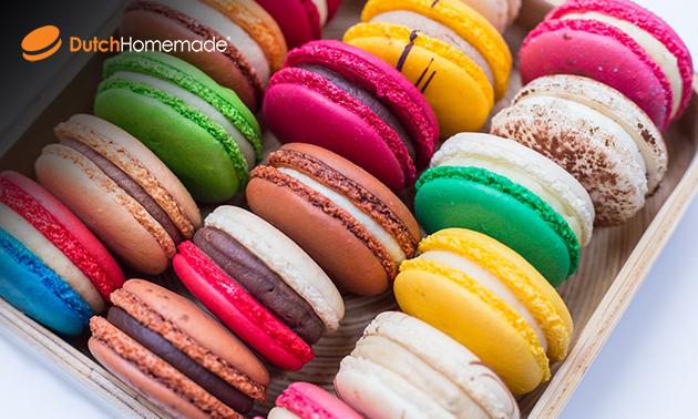Waardebon voor macarons, chocolade, koffie en meer