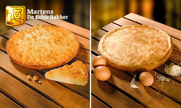 Afhalen: rijstevlaai of puddingkruimelvlaai