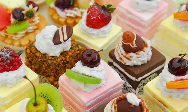 5 gebakjes naar keuze bij Echte Bakker Ten Veen