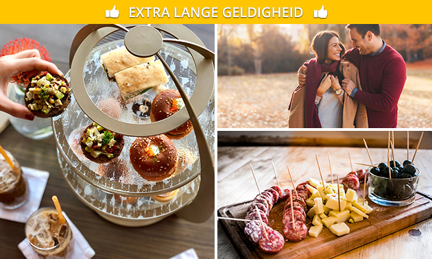 Wandeling + high tea + borrel bij Eetcafé de Grutter