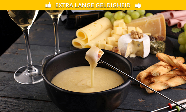 All-You-Can-Eat kaasfondue + evt. dessert