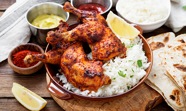 Thuisbezorgd of afhalen: compleet Surinaams diner