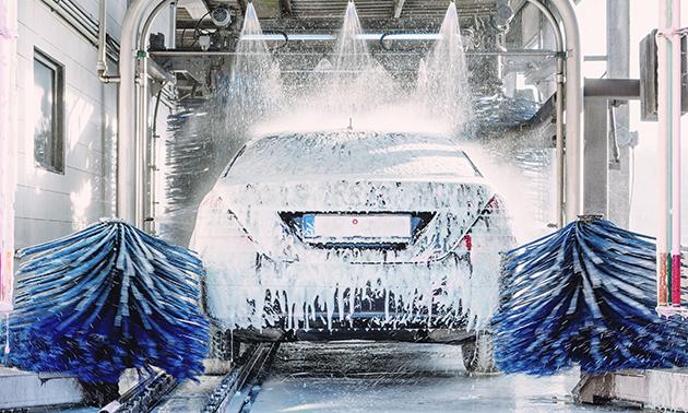 Luxe autowasbeurt bij Esso Hilversum