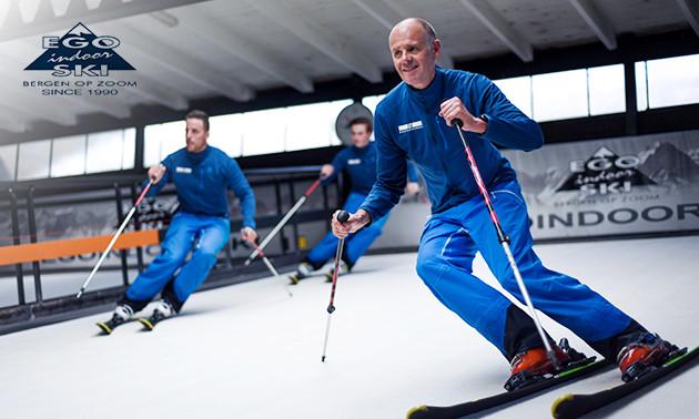 Ski- of snowboardles (1 uur) bij Ego Indoor Ski