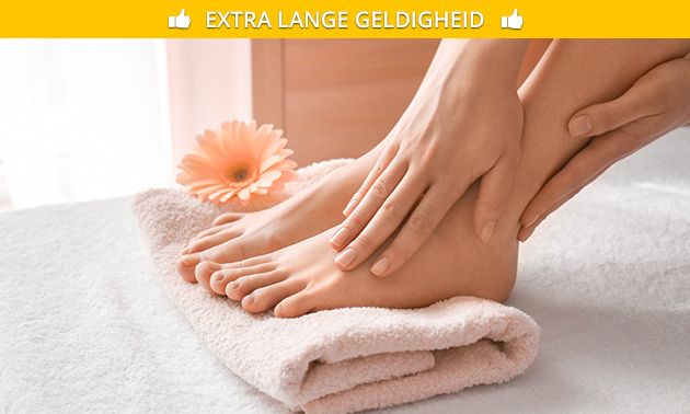 Spa-pedicurebehandeling (60 min)