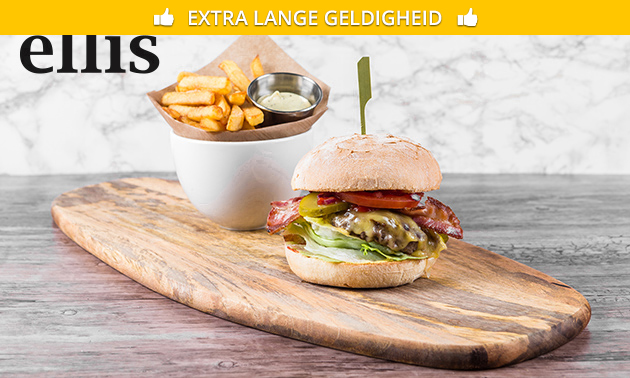2- of 3-gangen keuzediner bij Ellis Gourmet Burger