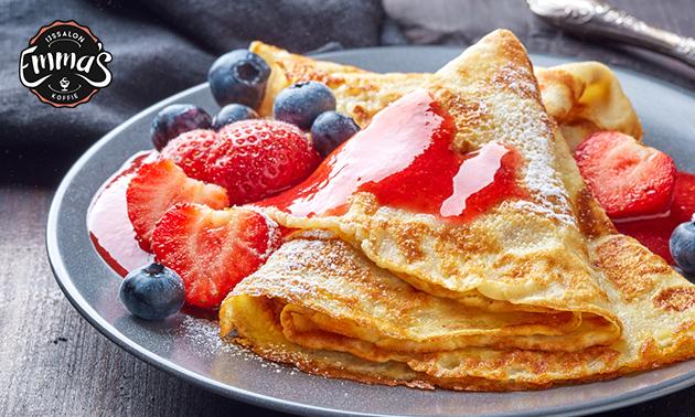All-You-Can-Eat pannenkoeken (18 keuzes) bij Emma's