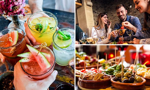 3 tapas brésilien + un cocktail au choix