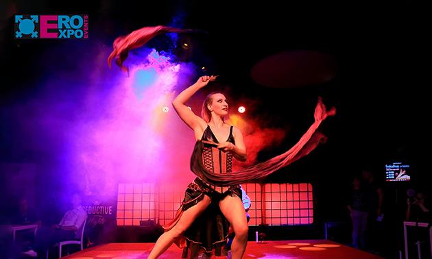 Entree voor Ero-Expo Eroticabeurs Gent