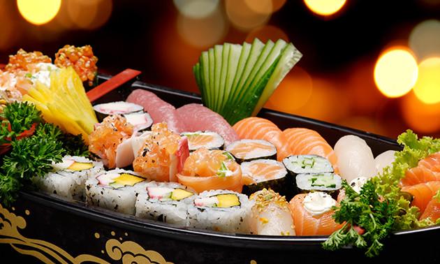 Esaki Sushi Geel, 3-gangen sushidiner: bespaar 50% in ...