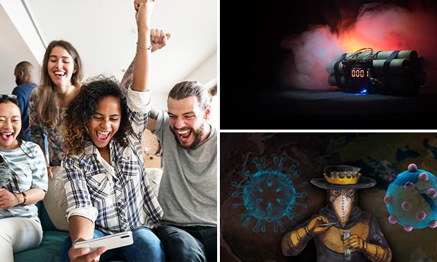 Online escape game (3 uur) voor minimaal 1 persoon