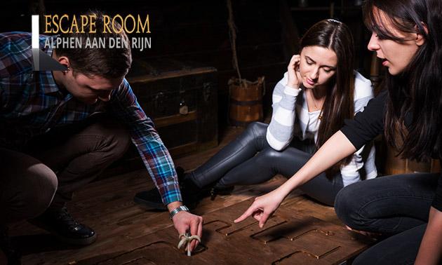 Escaperoom voor 4 tot 6 personen