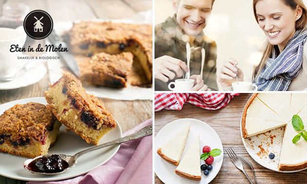 Afhalen: hele taart naar keuze bij Eten in de Molen
