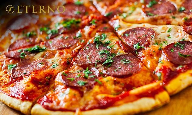 Afhalen: pizza + dessert bij Eterno
