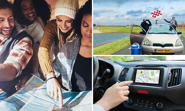 Auto-puzzeltocht door de Biesbosch voor 2-5 personen