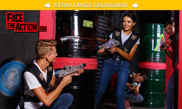 8, 16 of 24 laserguns huren