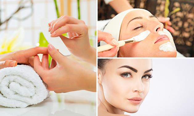 Manicurebehandeling of kruidenpeeling