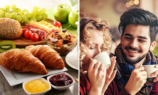 Ontbijt + eventueel bubbels in hartje Hasselt