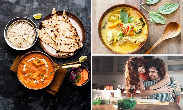 À emporter : menu indien en 2 services au coeur de Bruxelles