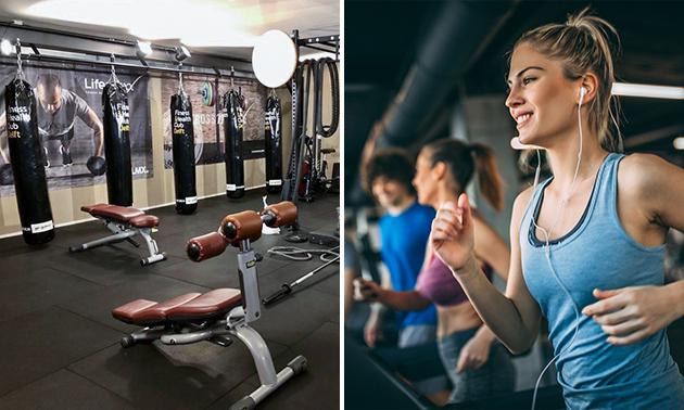 2 maanden onbeperkt fitness en groepslessen