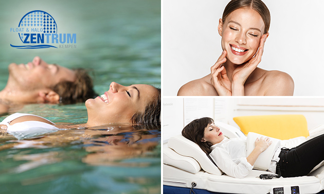 Wellnessarrangement (3,5 uur) incl. floaten