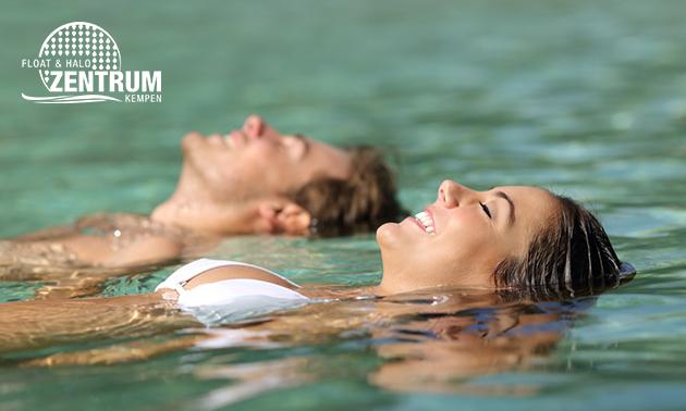 Sessie floaten (60 min) + andullatietherapie