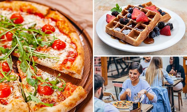 2-gangen pizzadiner bij Food Box Oostende