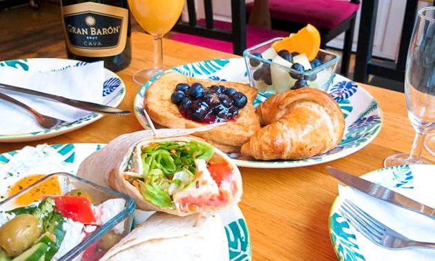 Afhalen: ontbijtdoos of brunch met cava