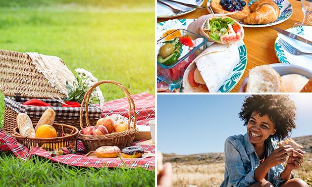 Afhalen: luxe picknick met cava