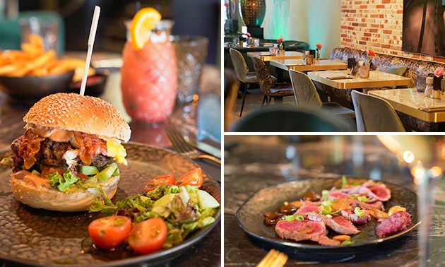 Thuisbezorgd of afhalen: 3-gangen keuzediner bij Foodbar Ferris