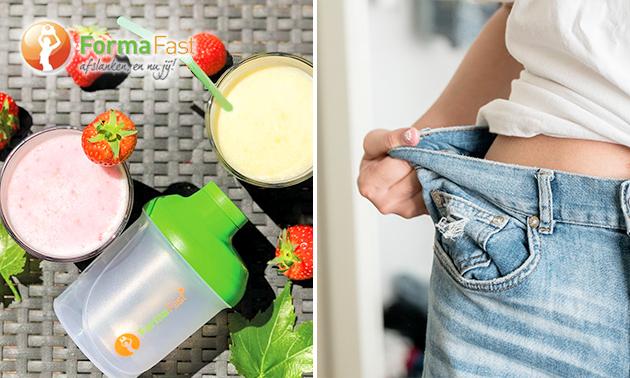 Thuisbezorgd: 10-daags dieetpakket + shakebeker
