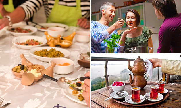 Marokkaanse kookworkshop (3,5 uur) + drankjes