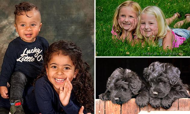 Fotoshoot (60 minuten) + fotoboekje met 12 foto's