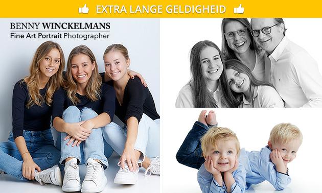 Professionele fotoshoot + 2 afdrukken