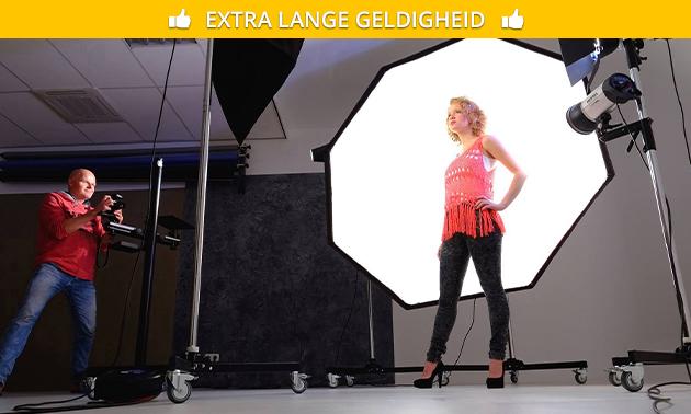 Zelf foto's maken in professionele studio