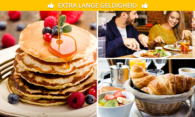 American pancakes + koffie of thee in hartje Leuven