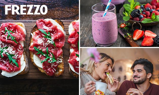 Afhalen: broodje naar keuze + smoothie bij Frezzo