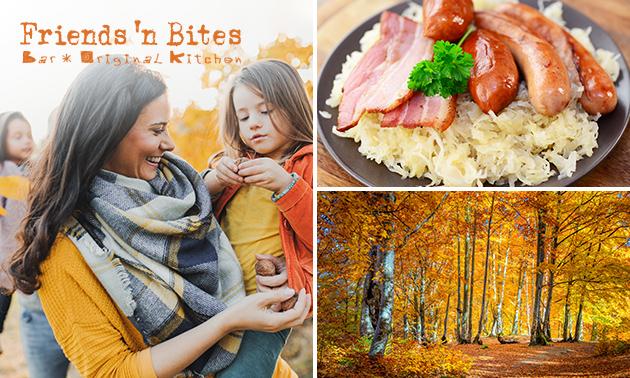 Wandelarrangement + maaltijd bij Friends ´n Bites