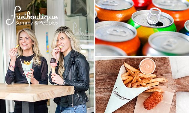 Afhalen: friet + snack + saus + frisdrank bij Frietboutique