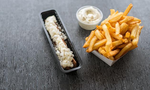 Friet + snack + saus + fris in hartje Zwolle