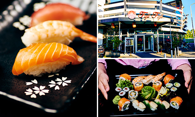 All-You-Can-Eat sushi & grill (2,5 uur)