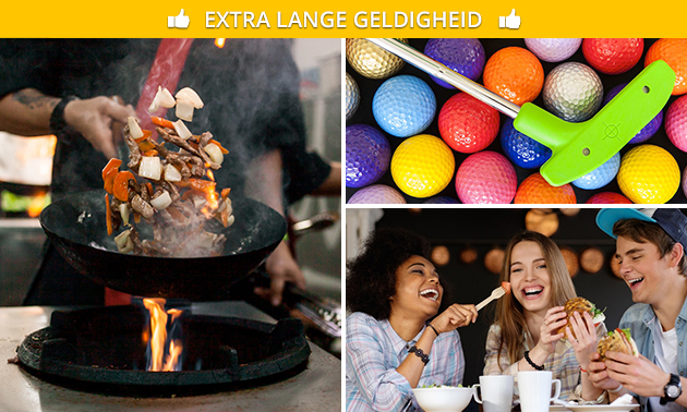 All-You-Can-Eat & Drink (3 uur) bij Fusion Dome