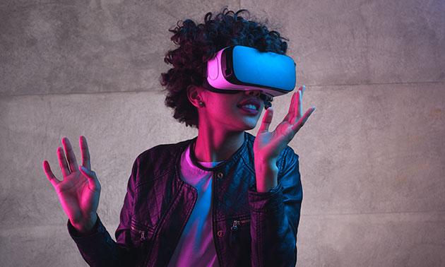 Virtual reality-spel (1 uur) voor 2 tot 8 personen