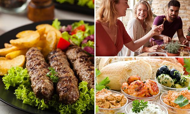 Menu libanais en 3 ou 4 services